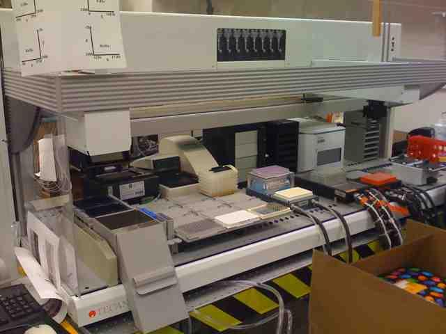 Automated Genotyping:Tecan Genesis Workstation 200 - 喜欢吃桃子 - wangyufeng的博客