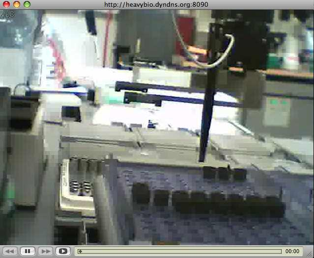 Webcam for Biotech Lab Automation